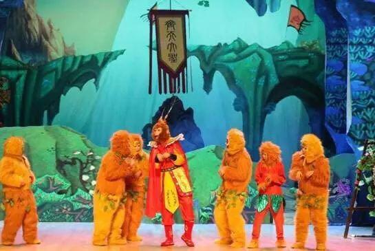 古装神话儿童剧《西游记—三打白骨精》